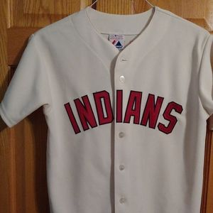 MLB Majestic Throwback Cleveland Indians J…